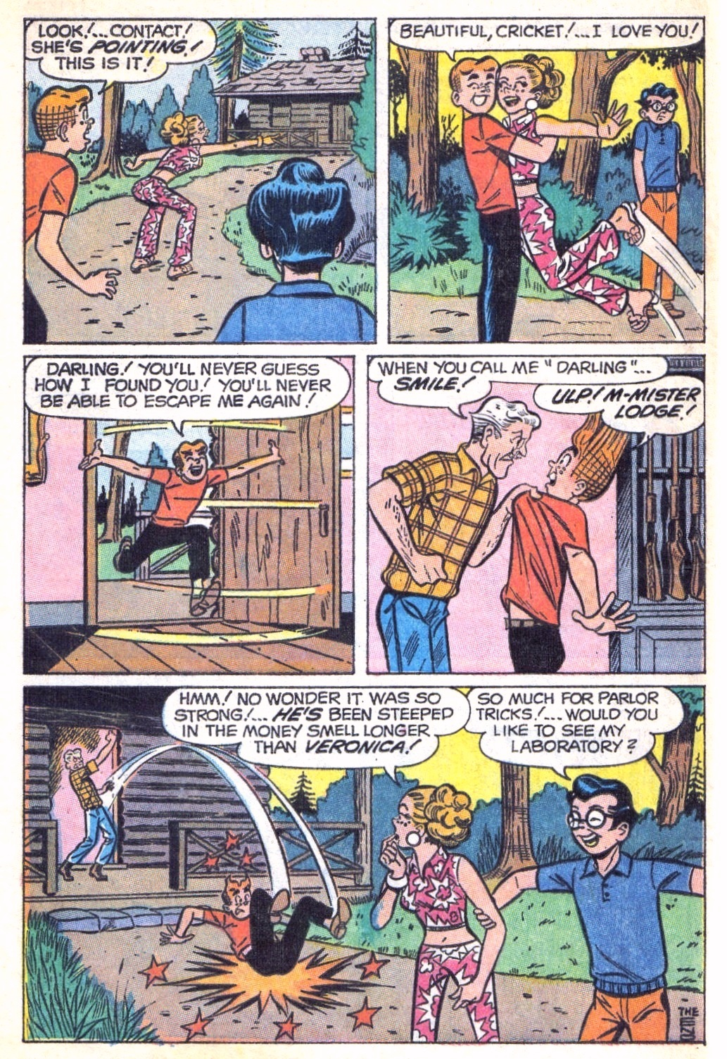 Read online Archie (1960) comic -  Issue #196 - 8