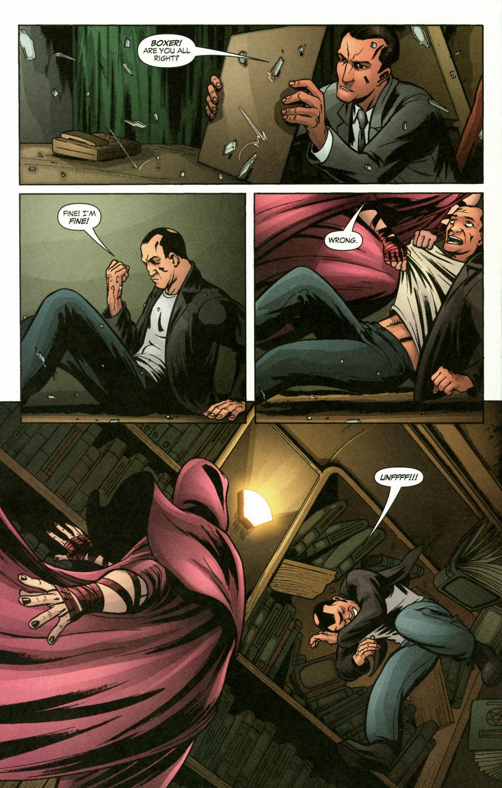 Read online Fallen Angel (2003) comic -  Issue #16 - 17
