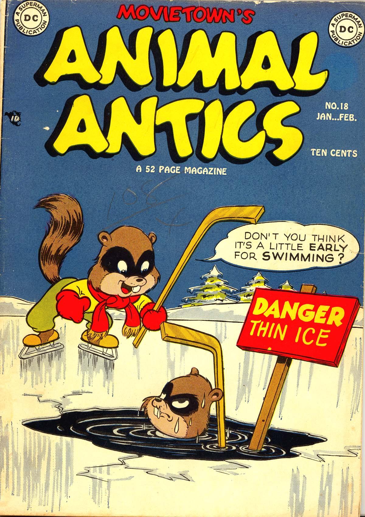 Read online Animal Antics comic -  Issue #18 - 1