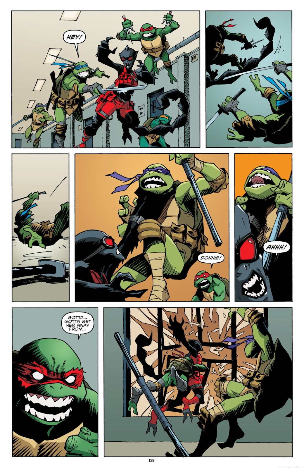 Read online Teenage Mutant Ninja Turtles: The IDW Collection comic -  Issue # TPB 8 (Part 2) - 28