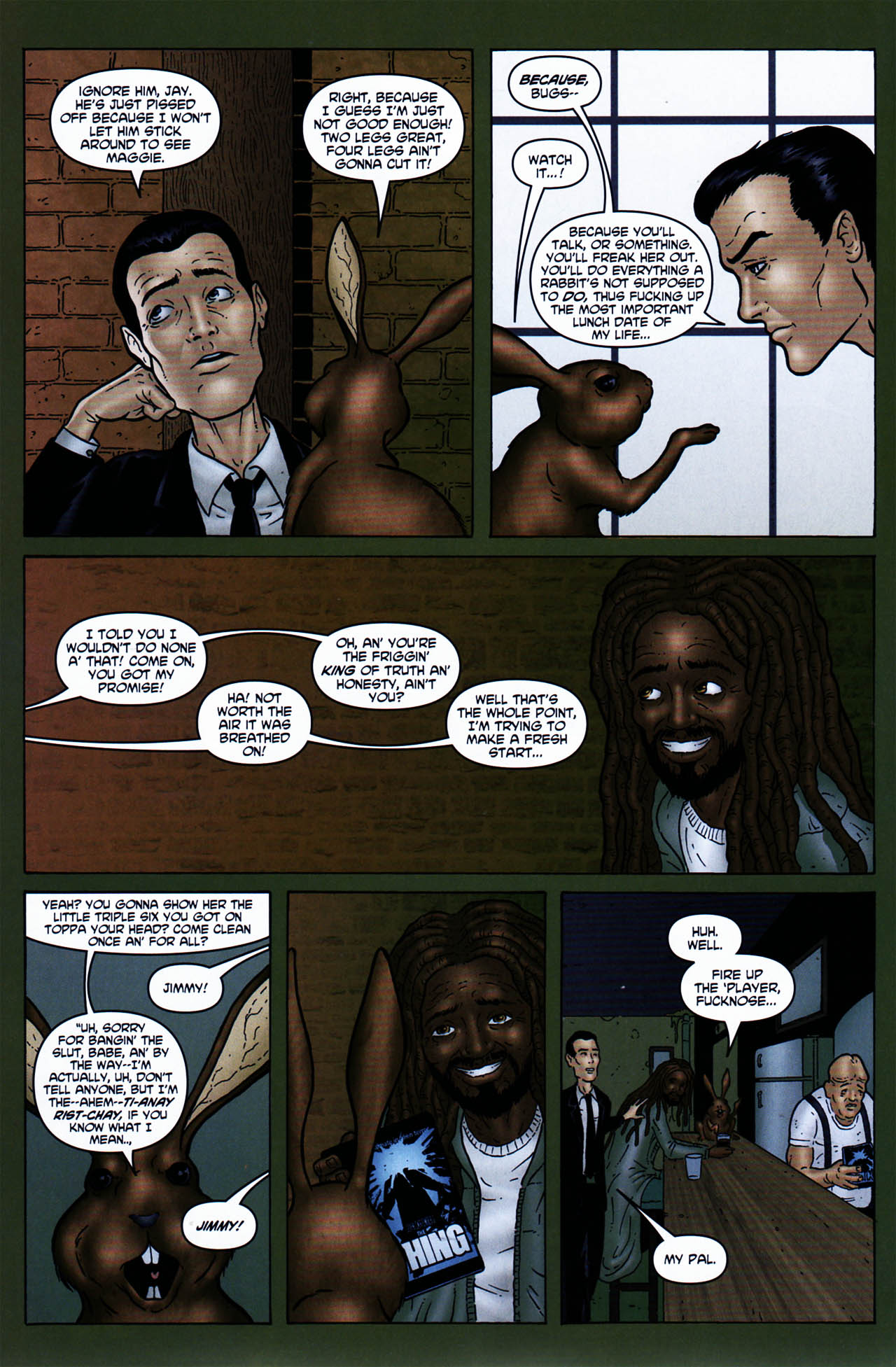 Read online Chronicles of Wormwood: The Last Enemy comic -  Issue # Full - 16