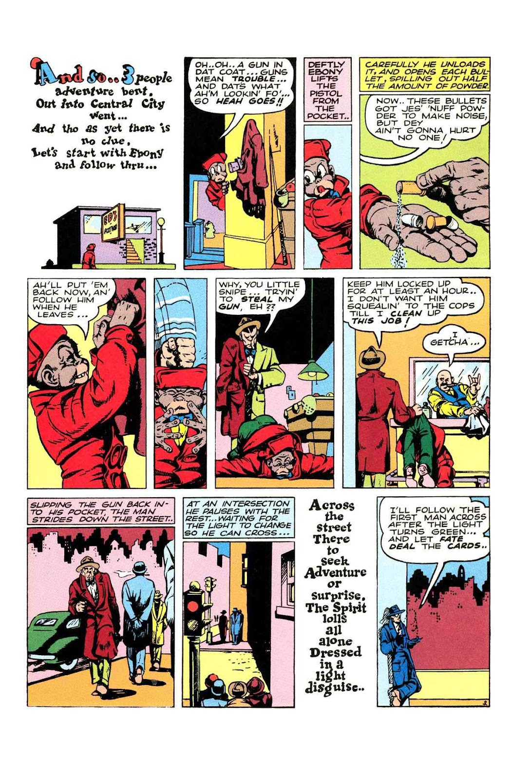 Read online Will Eisner's The Spirit Archives comic -  Issue # TPB 2 (Part 2) - 47