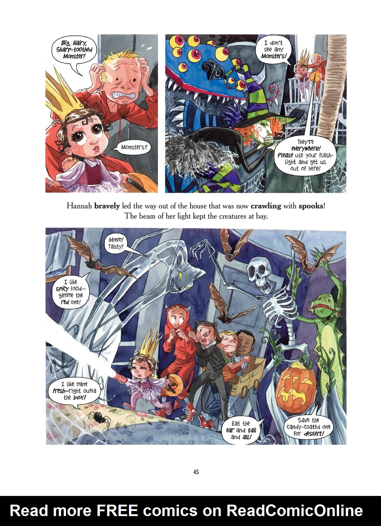 Read online Scary Godmother comic -  Issue # TPB - 45