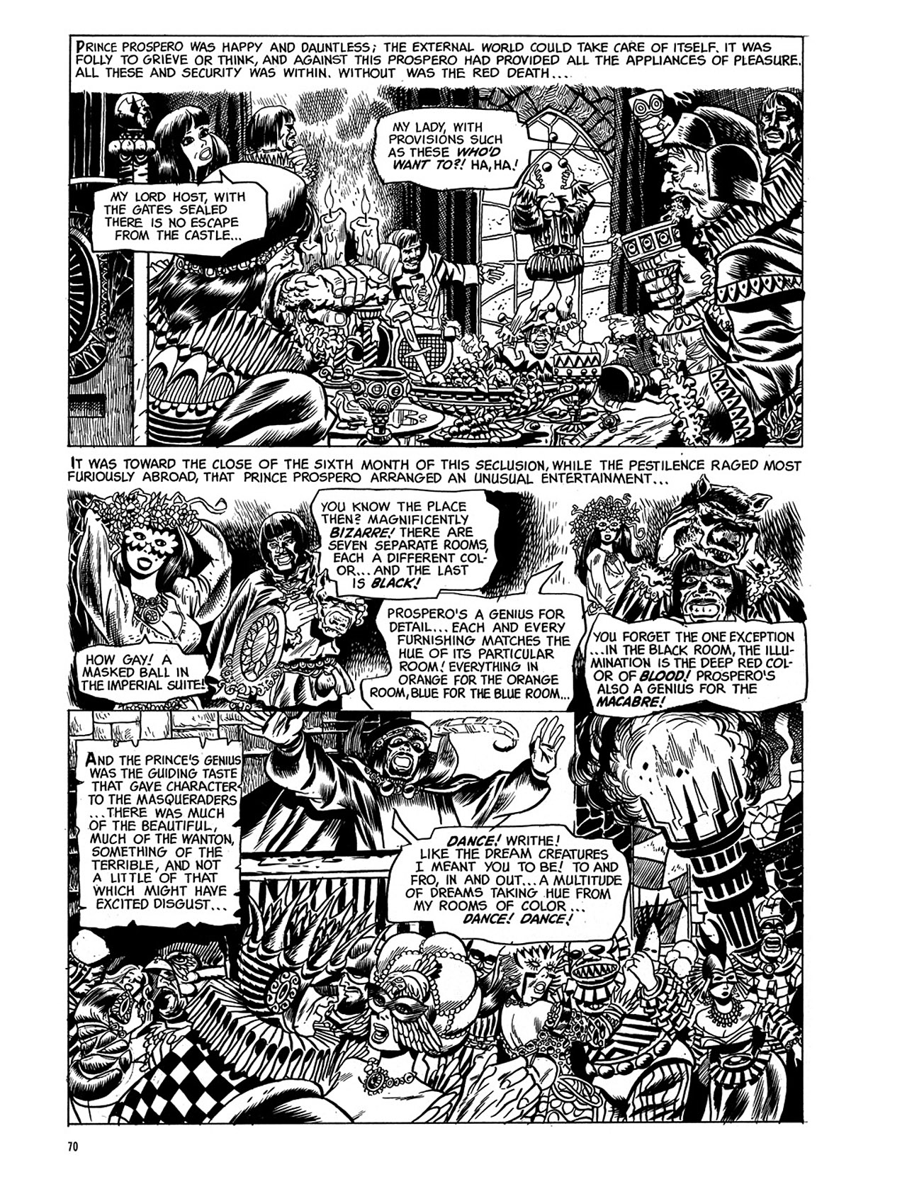 Read online Eerie Archives comic -  Issue # TPB 3 - 71