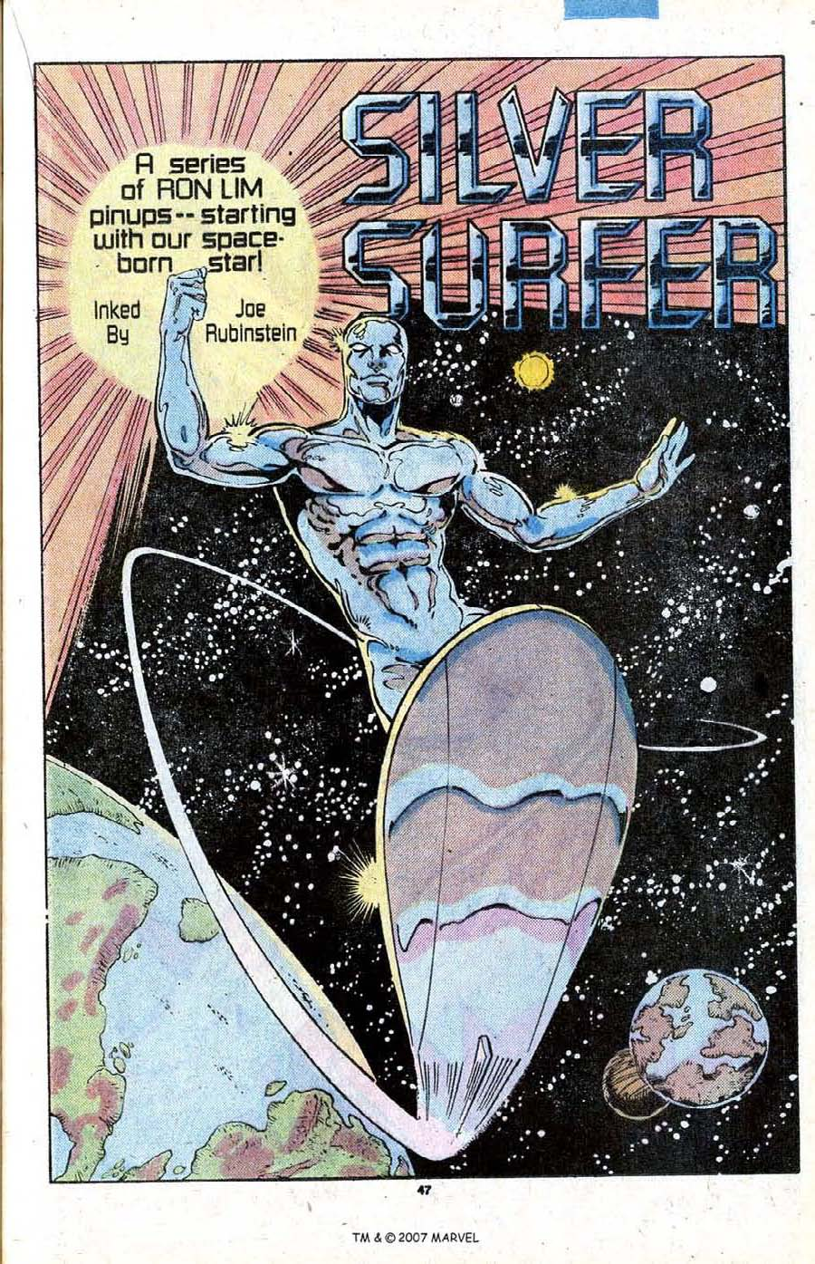 Read online Silver Surfer (1987) comic -  Issue # _Annual 1 - 49