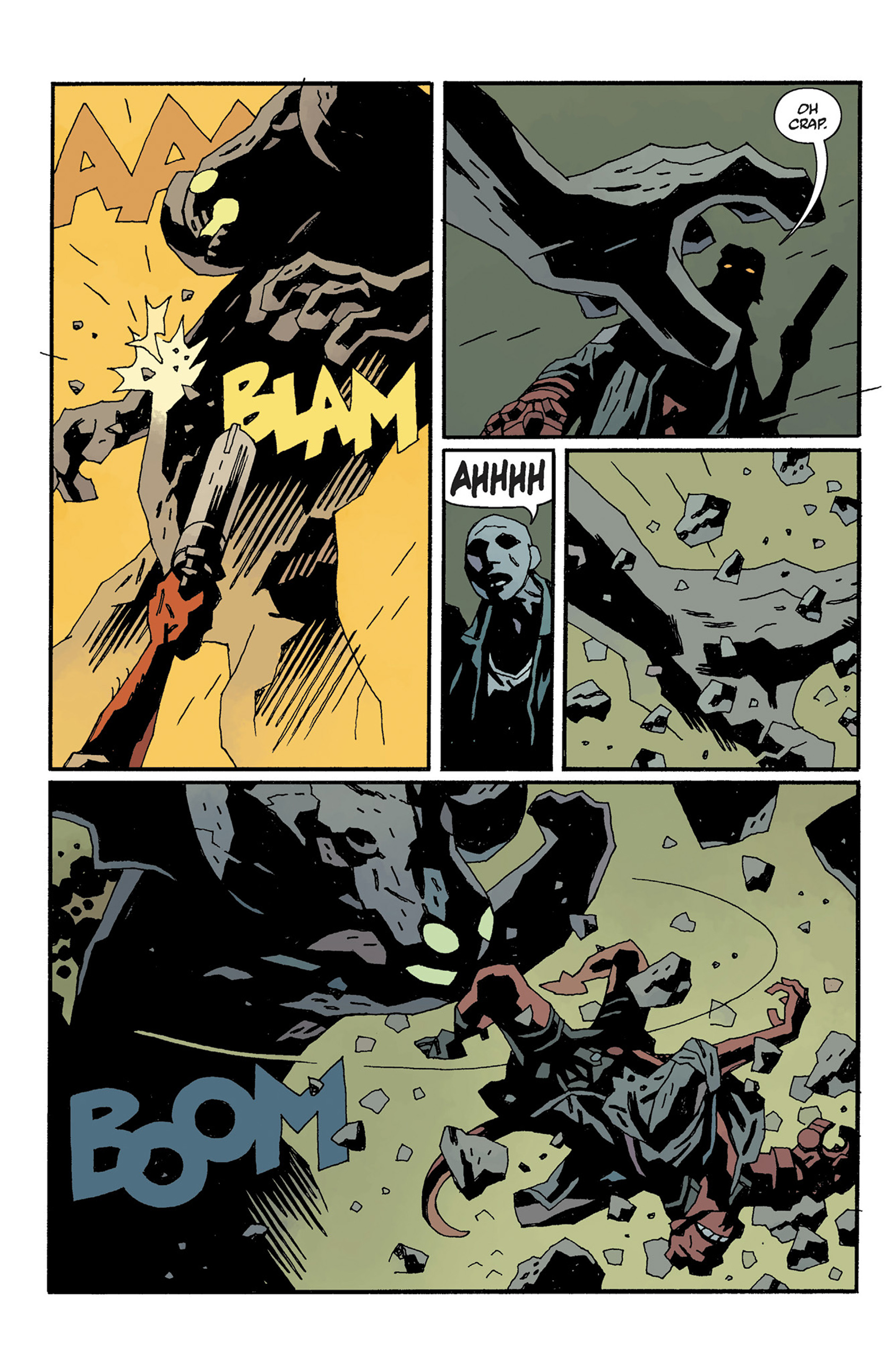 Read online Hellboy: The Crooked Man and Others comic -  Issue # TPB - 128
