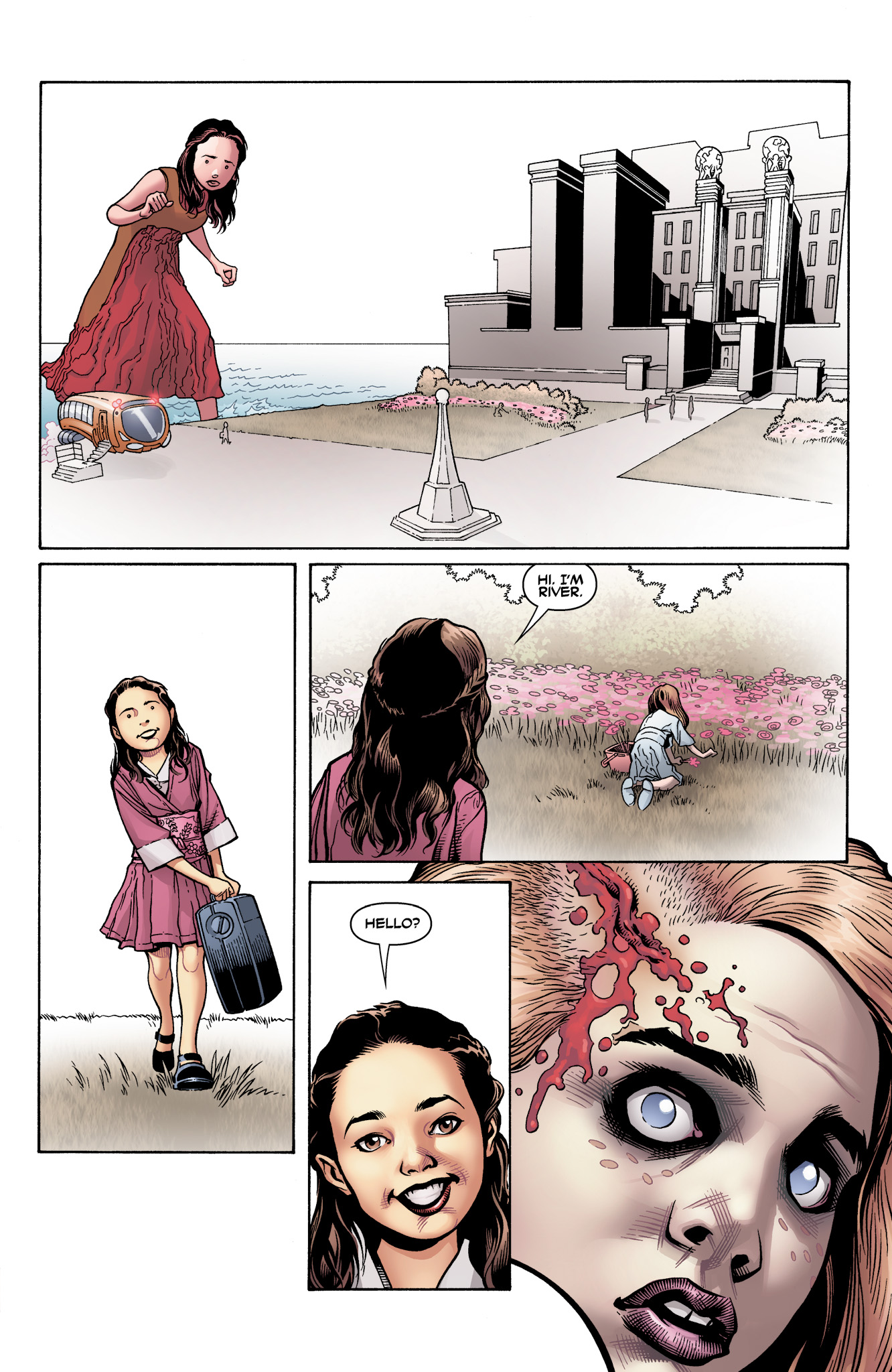 Read online Serenity: Firefly Class 03-K64  Leaves on the Wind comic -  Issue #3 - 5