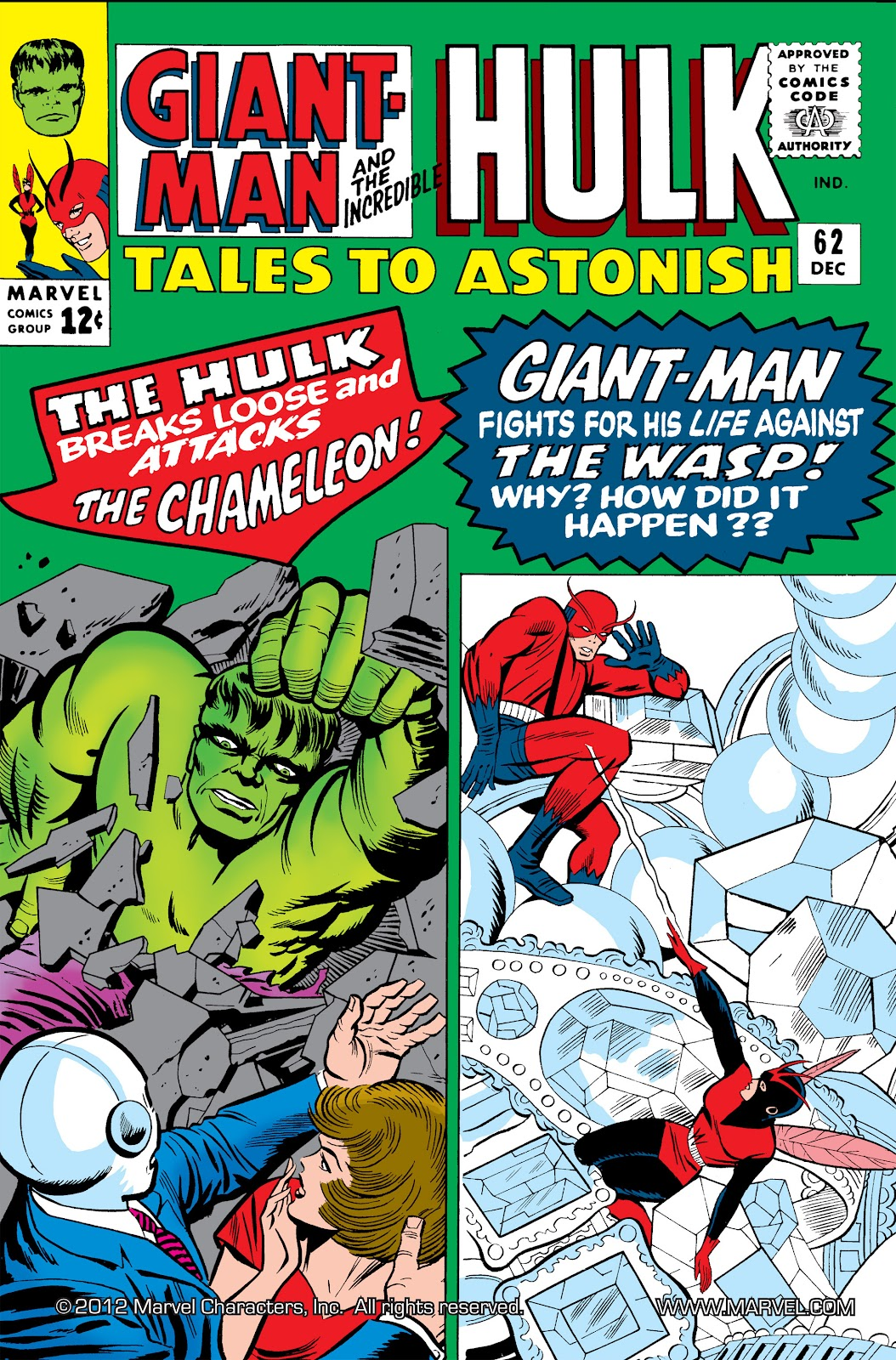 Read online Marvel Masterworks: The Incredible Hulk comic -  Issue # TPB 2 (Part 1) - 45