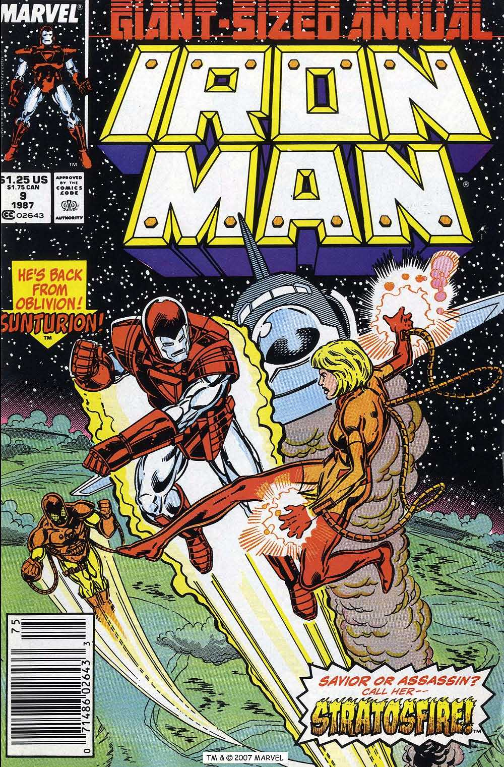 Iron Man Annual issue 9 - Page 1