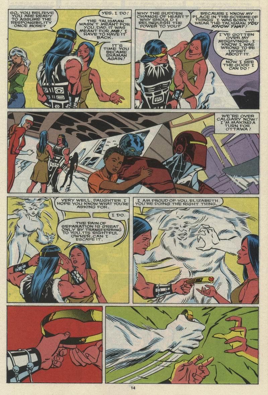 Read online Alpha Flight (1983) comic -  Issue #68 - 16