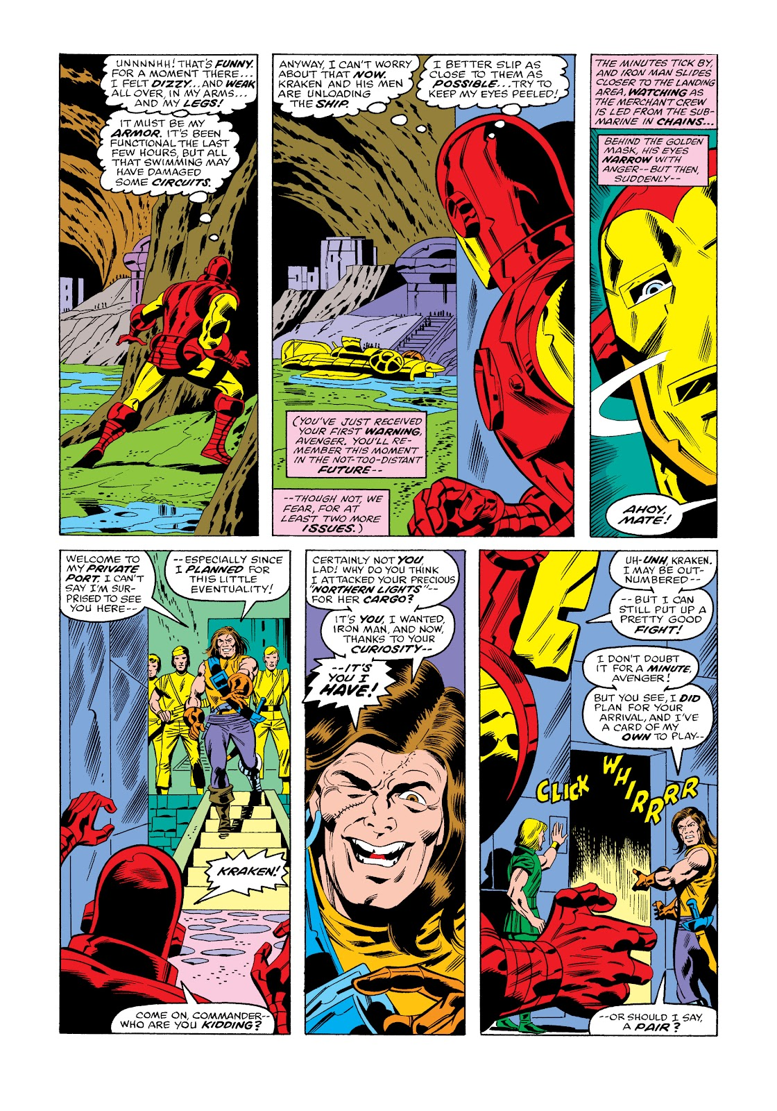 Read online Marvel Masterworks: The Invincible Iron Man comic -  Issue # TPB 11 (Part 3) - 64