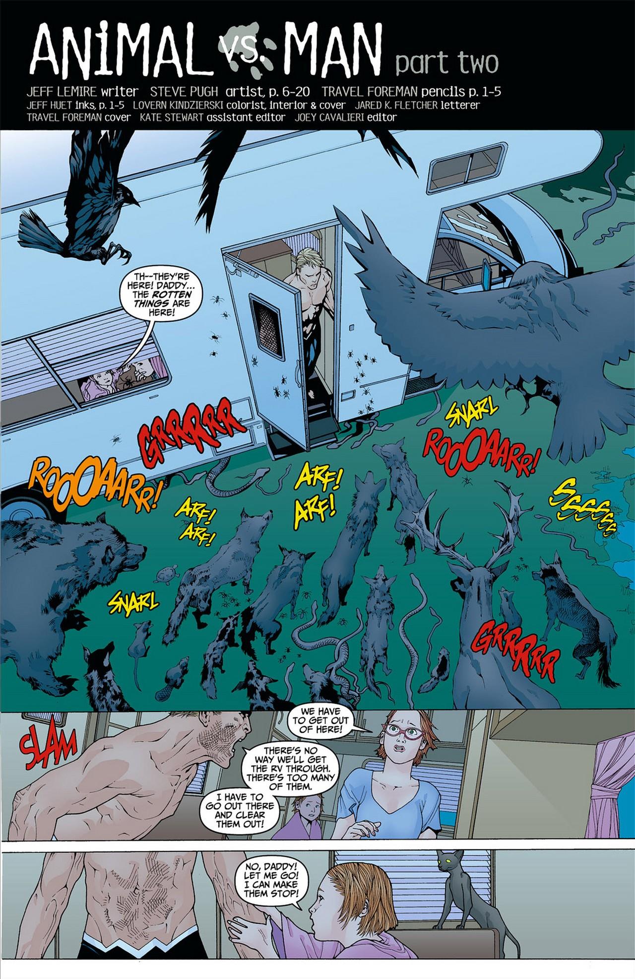 Read online Animal Man (2011) comic -  Issue #8 - 2