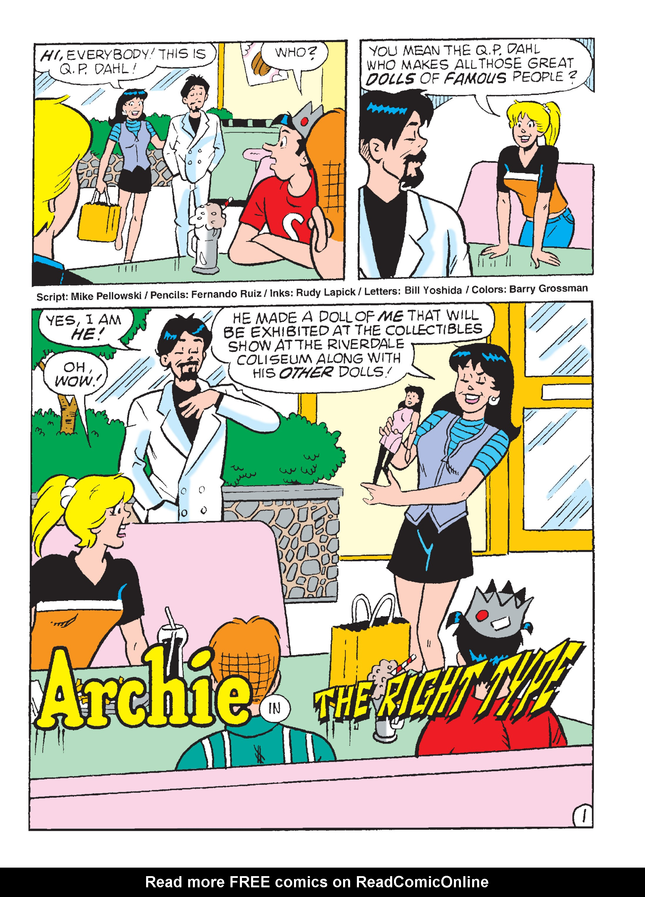 Read online Archie 1000 Page Comics Blowout! comic -  Issue # TPB (Part 2) - 231