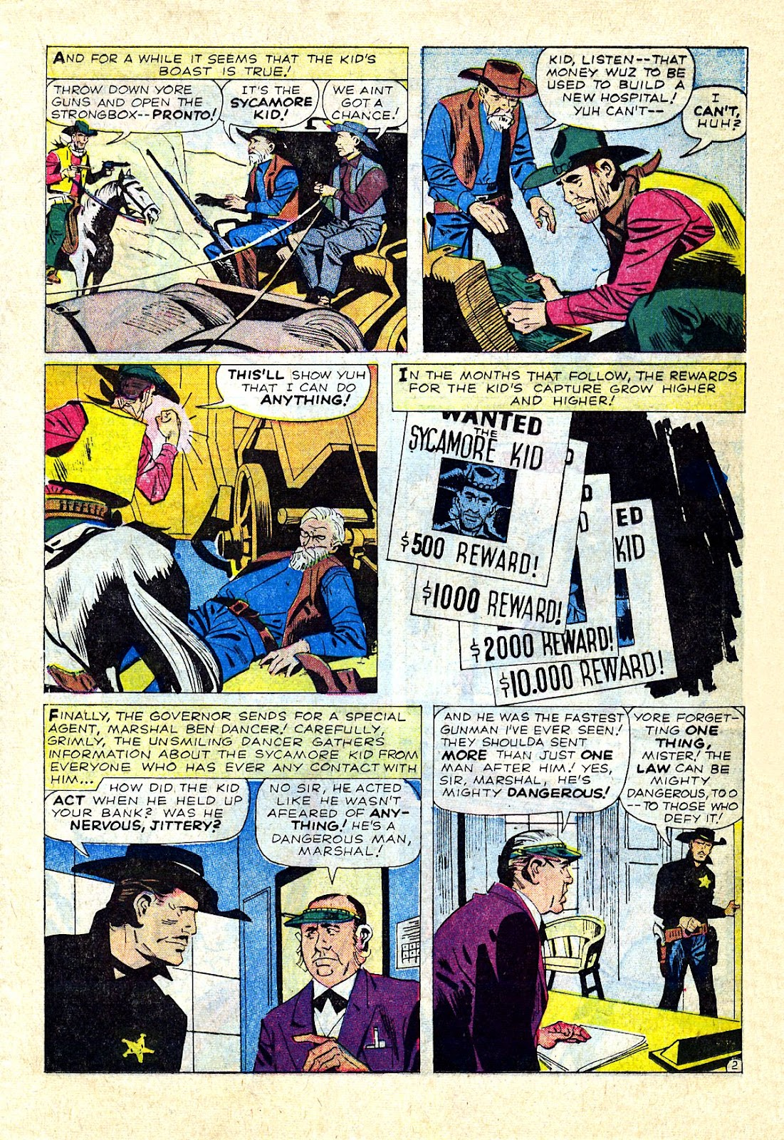 Gunsmoke Western issue 75 - Page 21