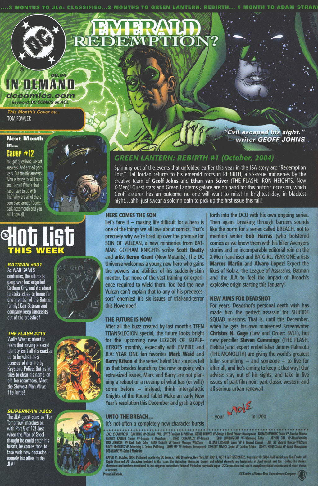 Read online Caper comic -  Issue #11 - 24