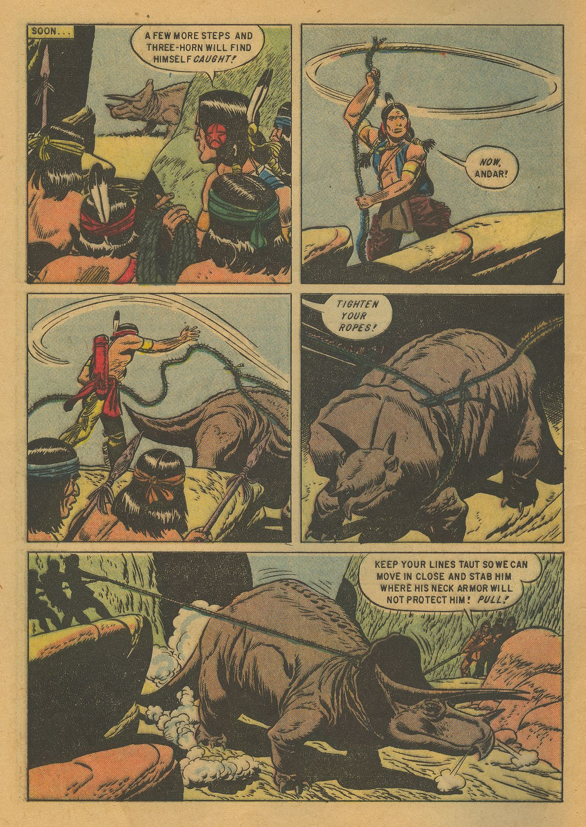 Read online Turok, Son of Stone comic -  Issue #10 - 8