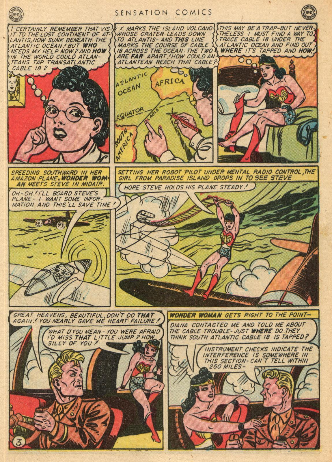 Read online Sensation (Mystery) Comics comic -  Issue #35 - 5