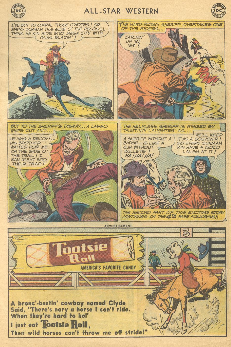 Read online All-Star Western (1951) comic -  Issue #108 - 8
