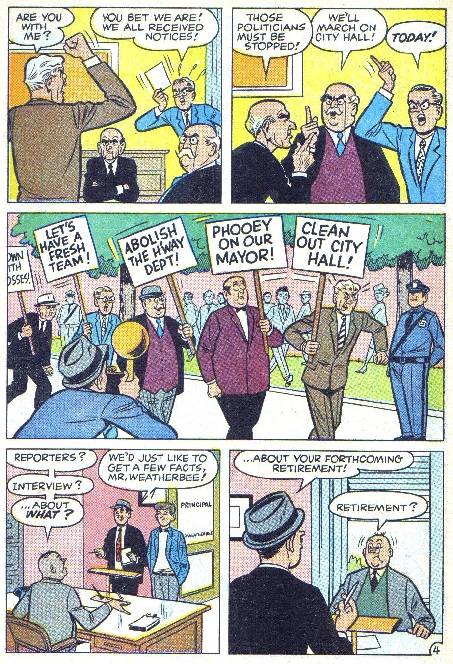 Read online Archie (1960) comic -  Issue #166 - 6