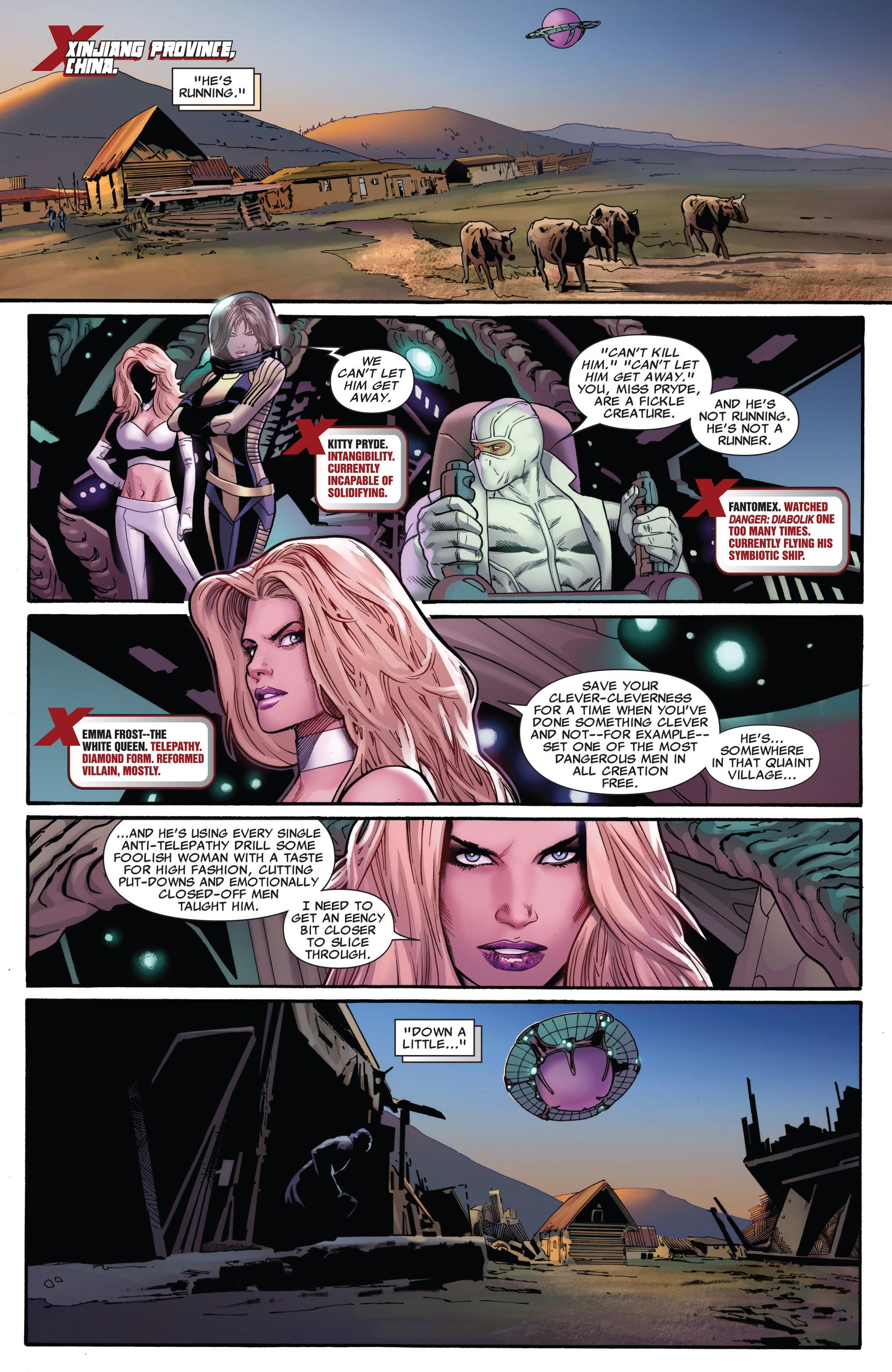 Read online Uncanny X-Men (1963) comic -  Issue #532 - 3