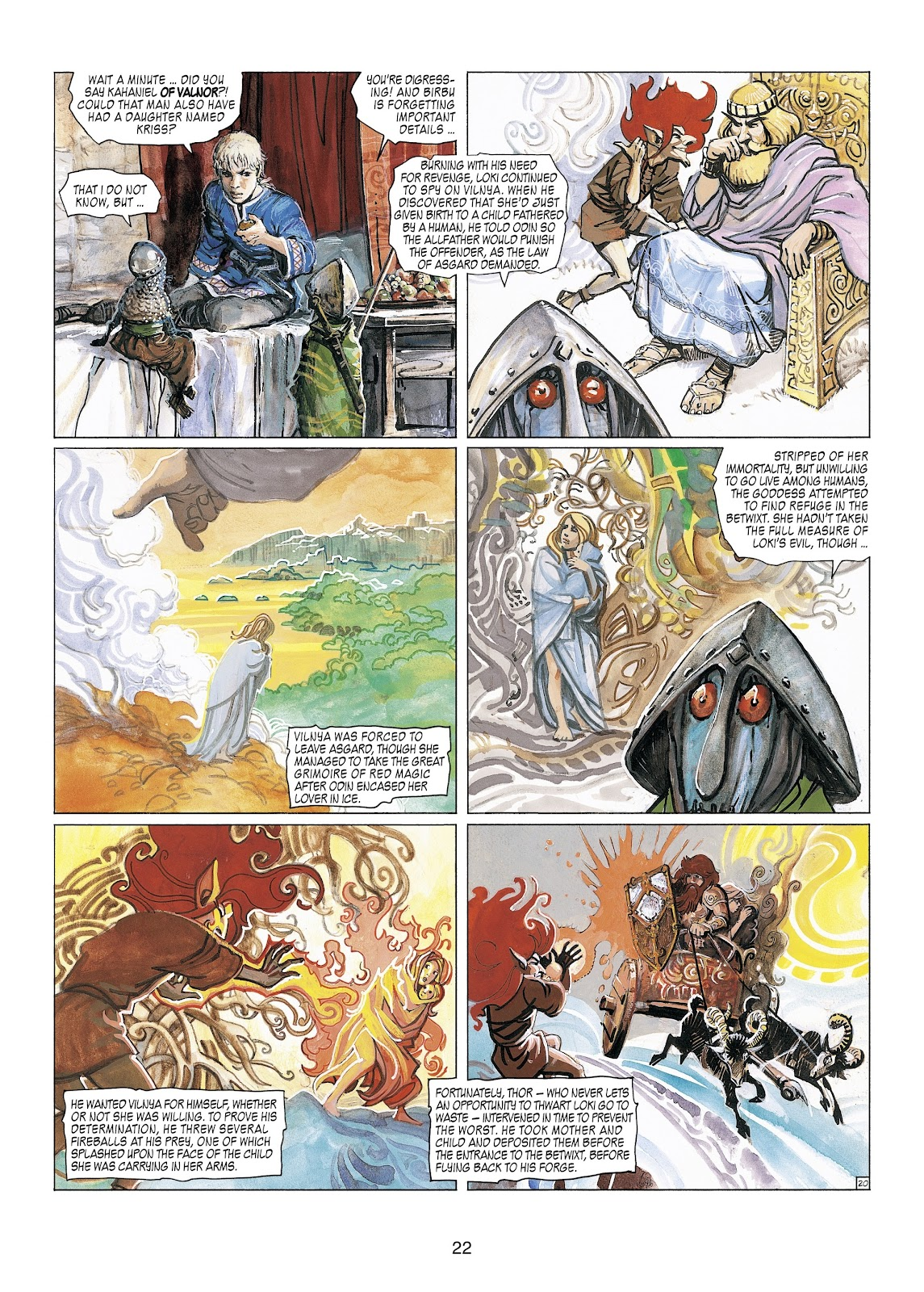 Read online Thorgal comic -  Issue #23 - 24