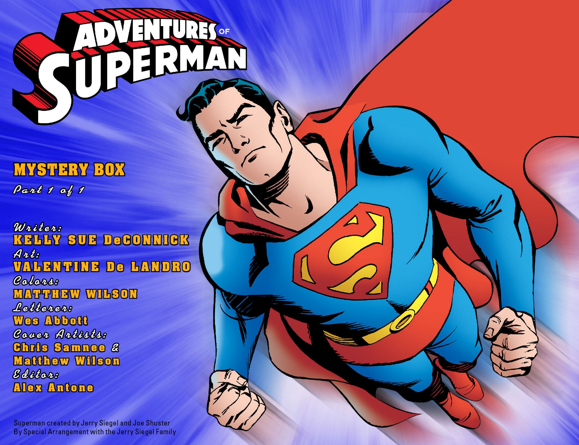 Read online Adventures of Superman [I] comic -  Issue #50 - 2