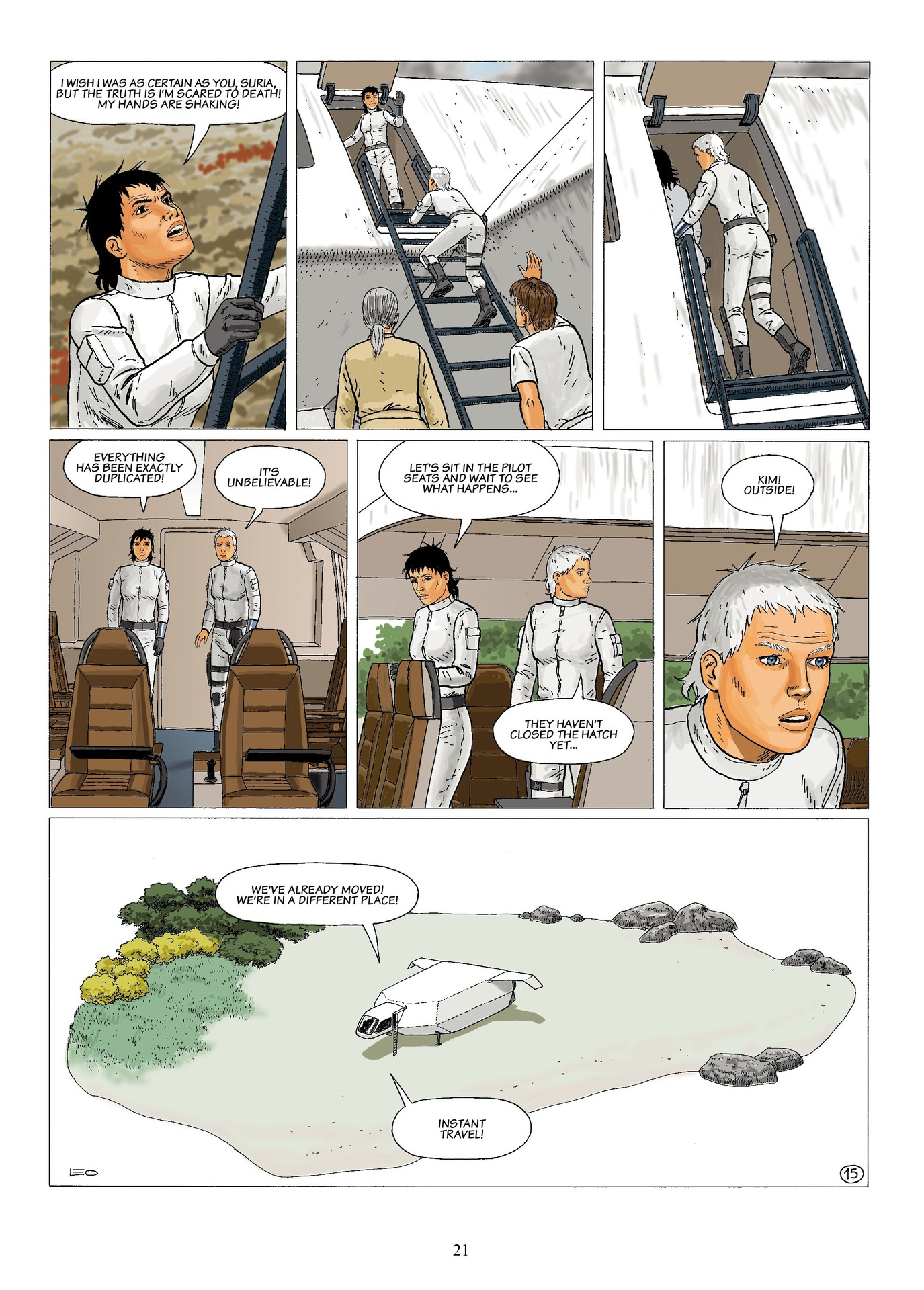 Read online Antares comic -  Issue #6 - 23