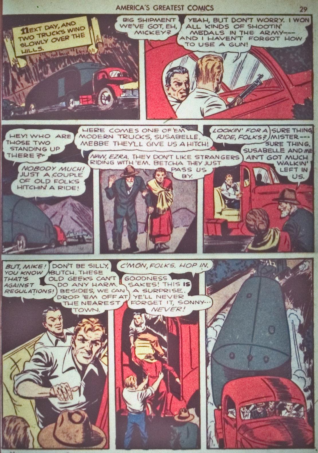 Read online America's Greatest Comics comic -  Issue #1 - 32