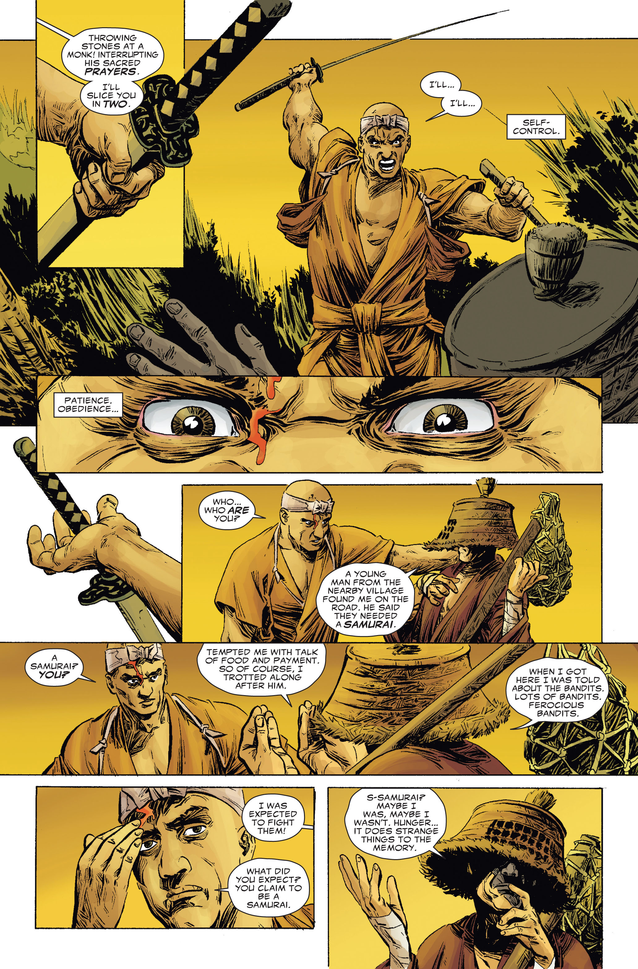 Read online 5 Ronin (2011) comic -  Issue #2 - 8