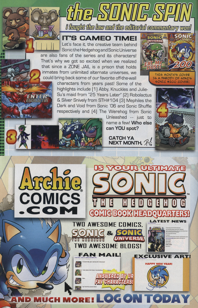 Read online Sonic Universe comic -  Issue #31 - 32