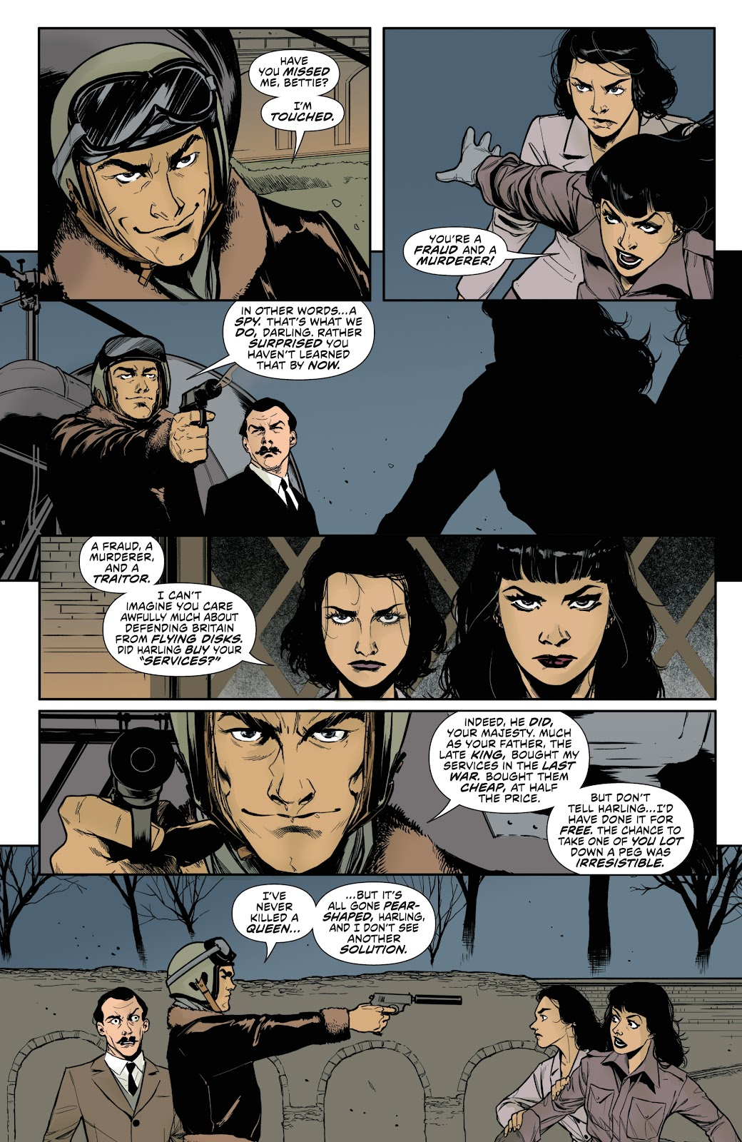 Read online Bettie Page (2018) comic -  Issue #3 - 23
