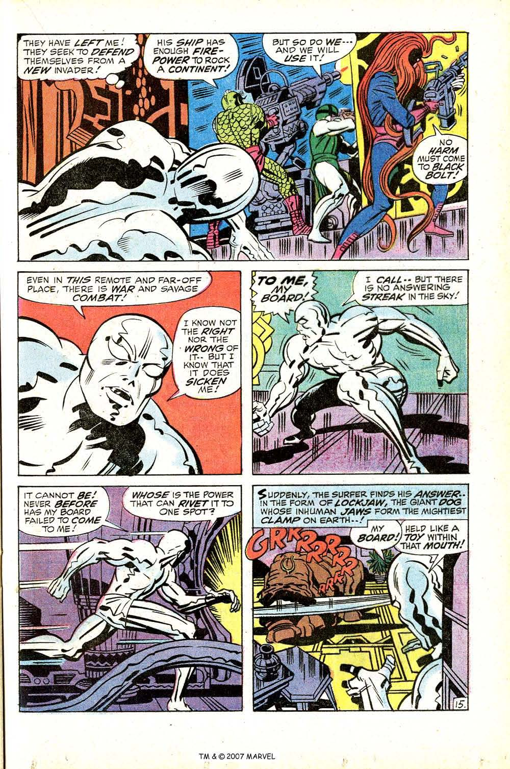 Silver Surfer (1968) issue 18 - Page 21