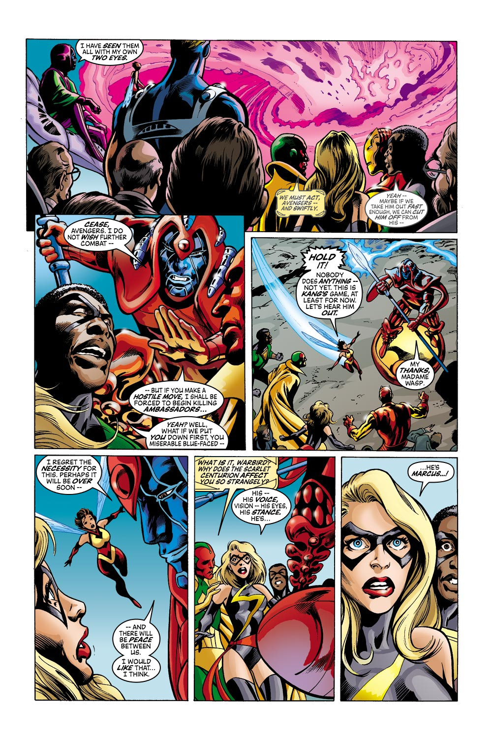 Read online Avengers (1998) comic -  Issue #42 - 11