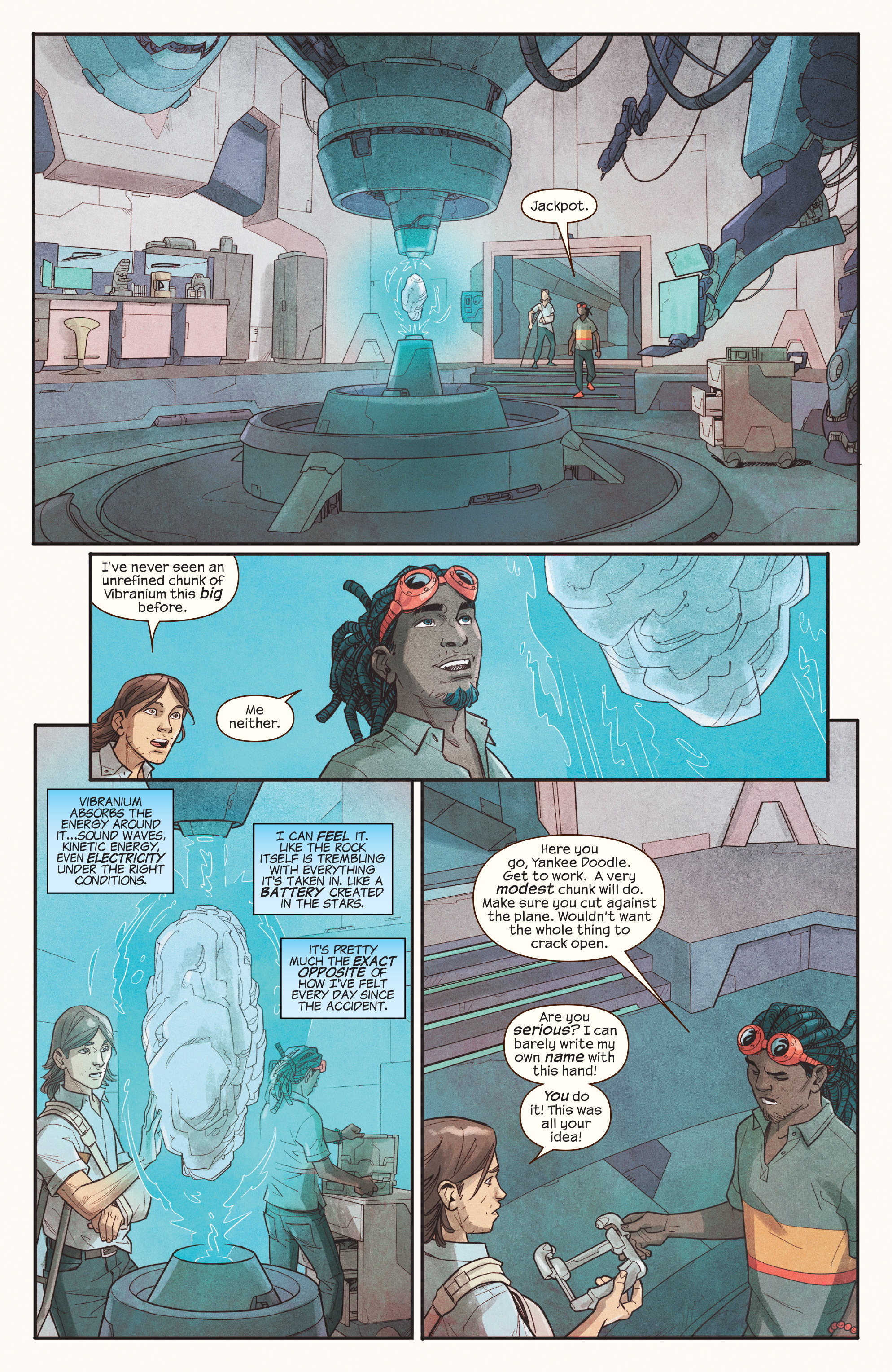 Read online Ms. Marvel (2016) comic -  Issue #18 - 13