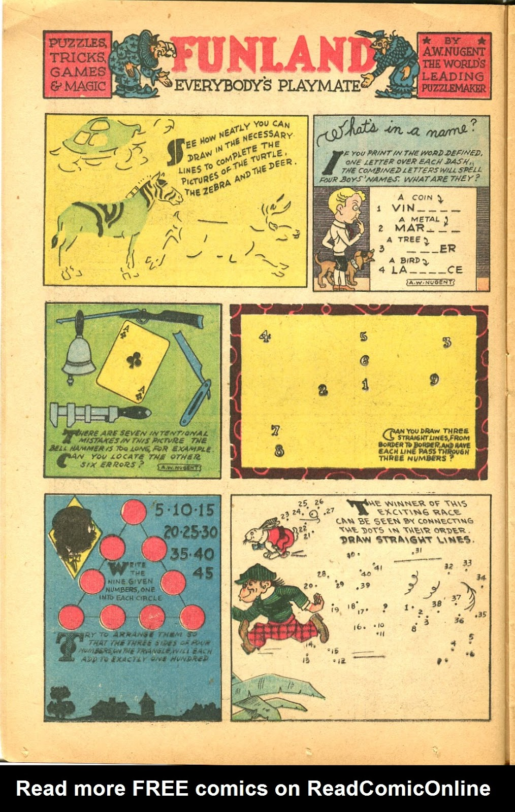 Read online Famous Funnies comic -  Issue #119 - 18