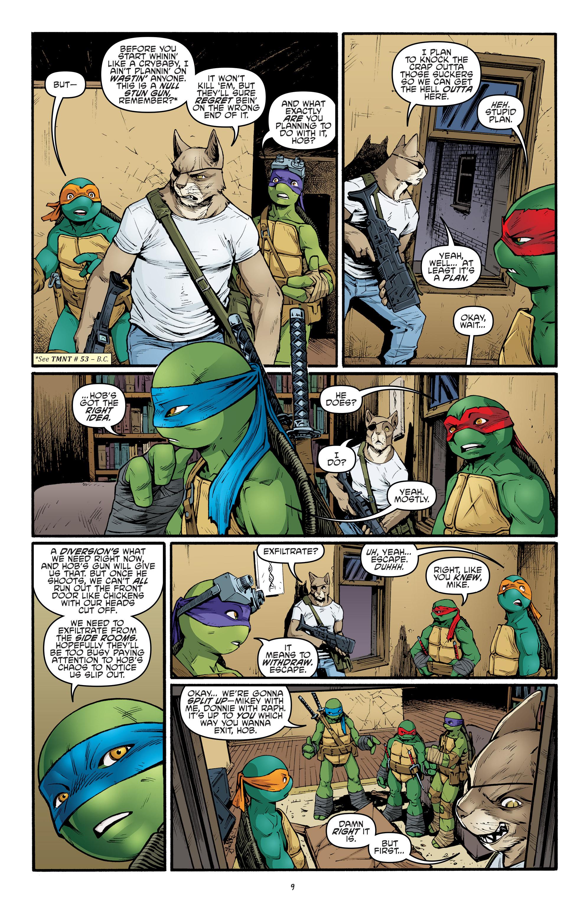 Read online Teenage Mutant Ninja Turtles (2011) comic -  Issue #69 - 11