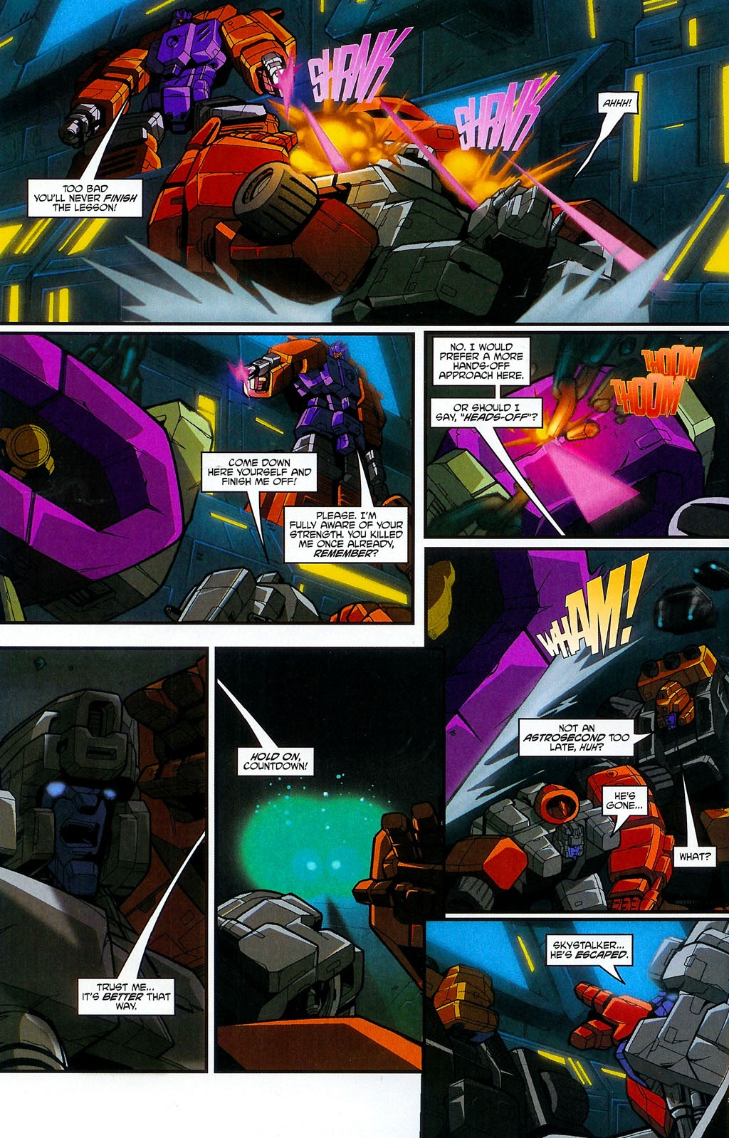 Read online Transformers: Micromasters comic -  Issue #4 - 18