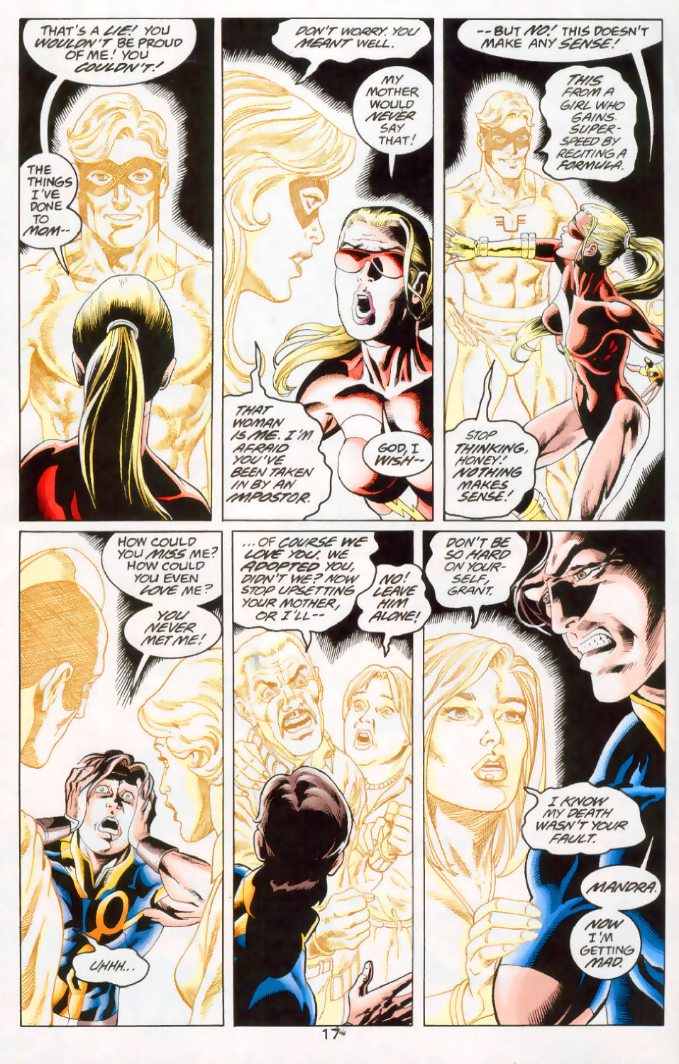 Read online The Titans (1999) comic -  Issue #45 - 18