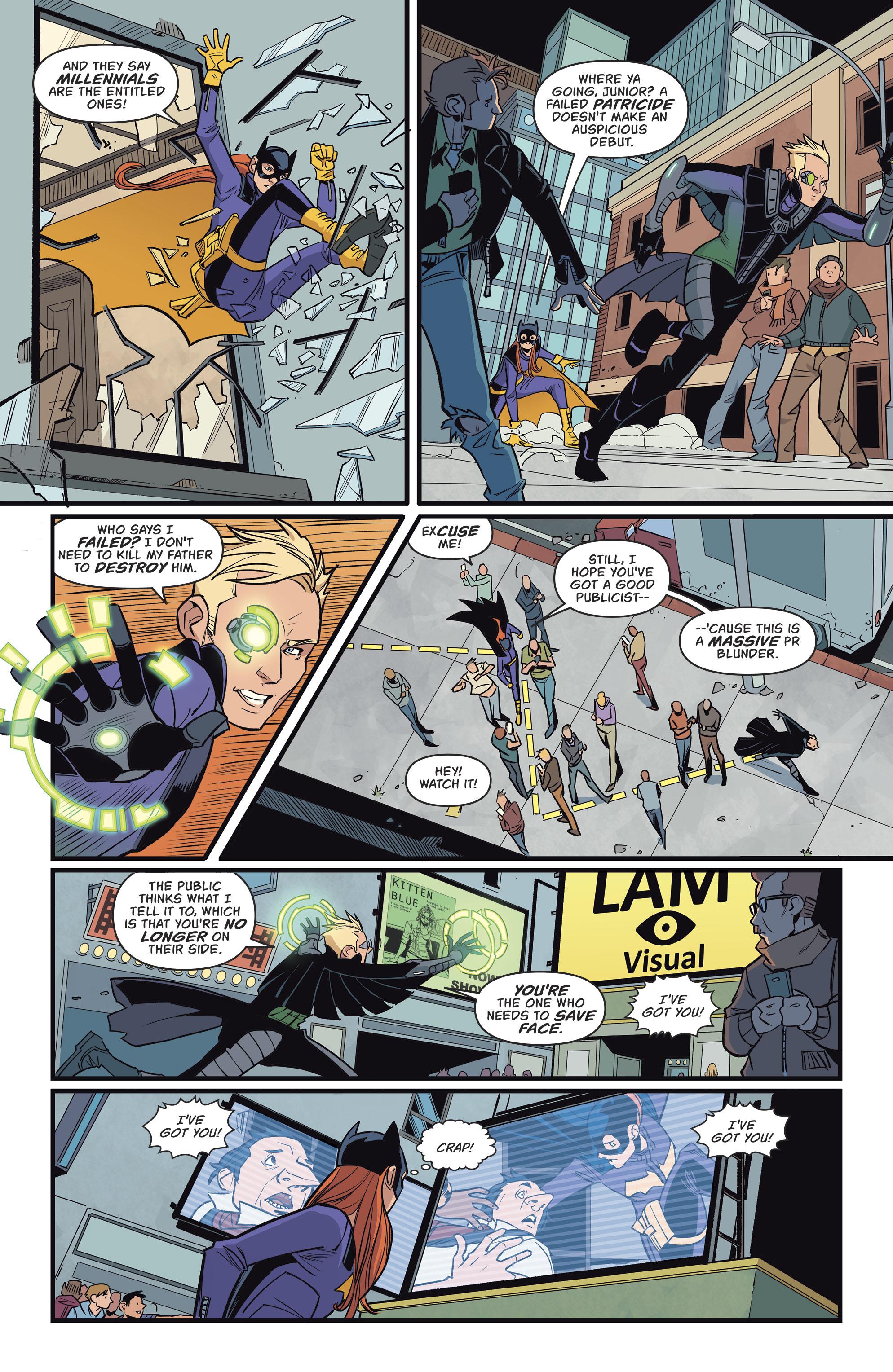 Read online Batgirl (2016) comic -  Issue #11 - 9