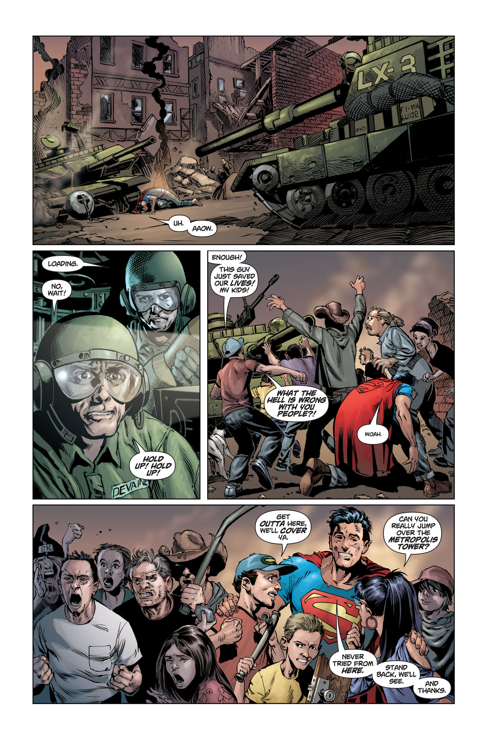 Read online Action Comics (2011) comic -  Issue #1 - 22