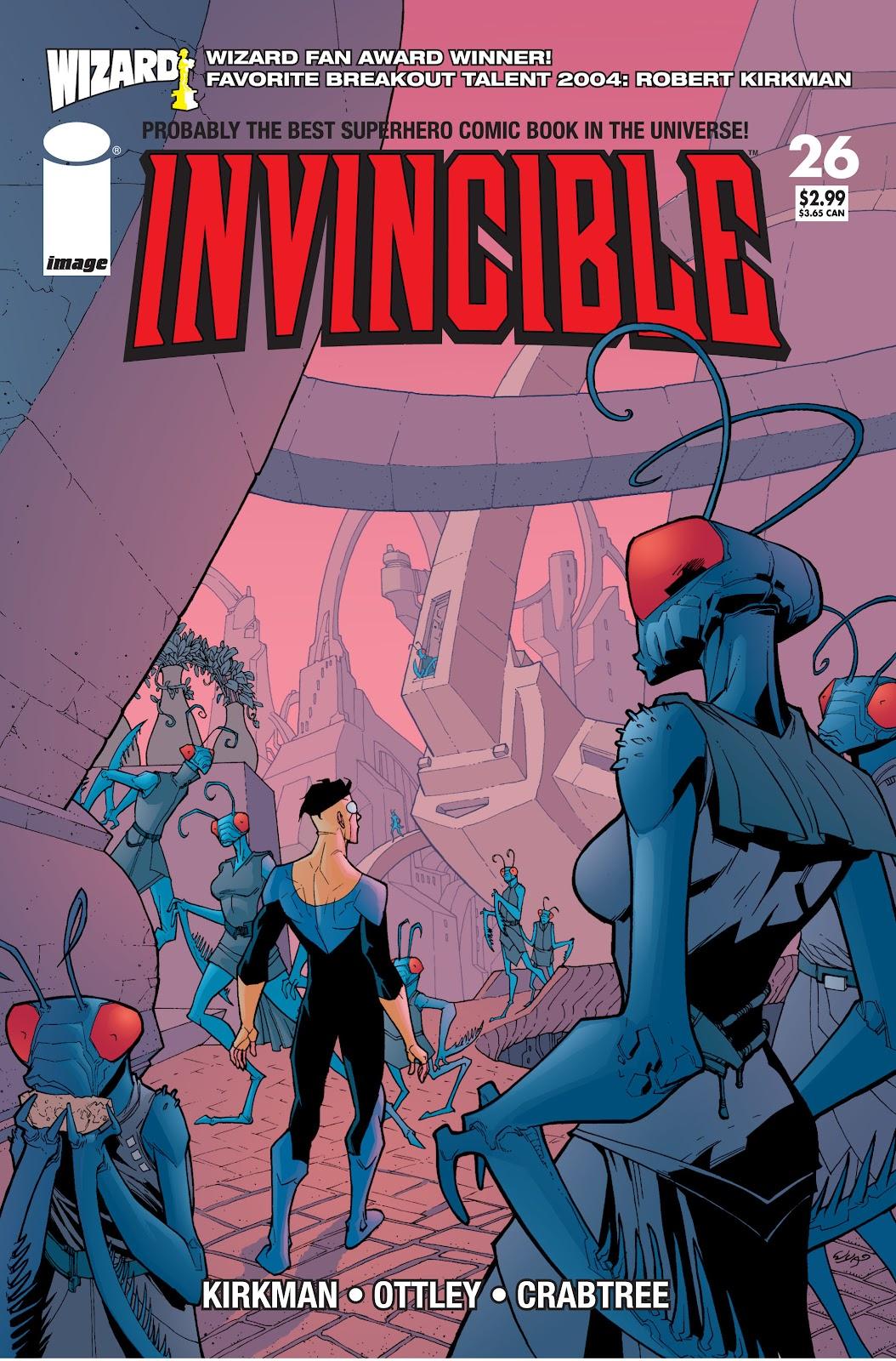 Invincible (2003) 26 Page 1