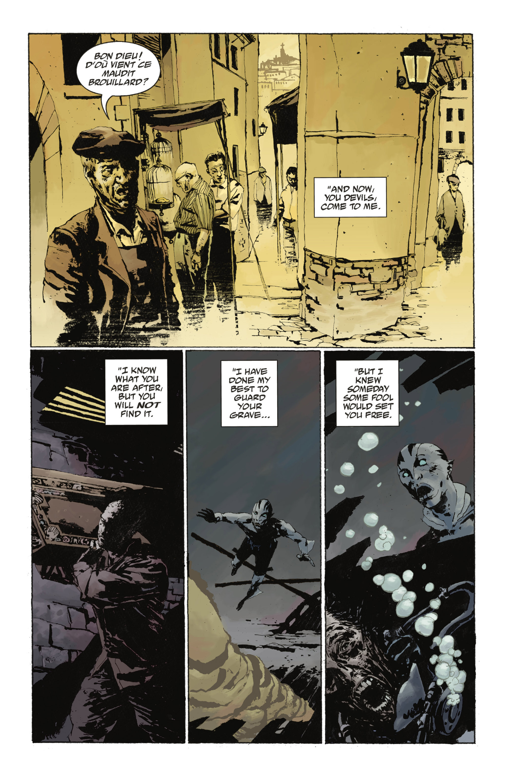 Read online Abe Sapien: The Drowning comic -  Issue #Abe Sapien: The Drowning _TPB - 42