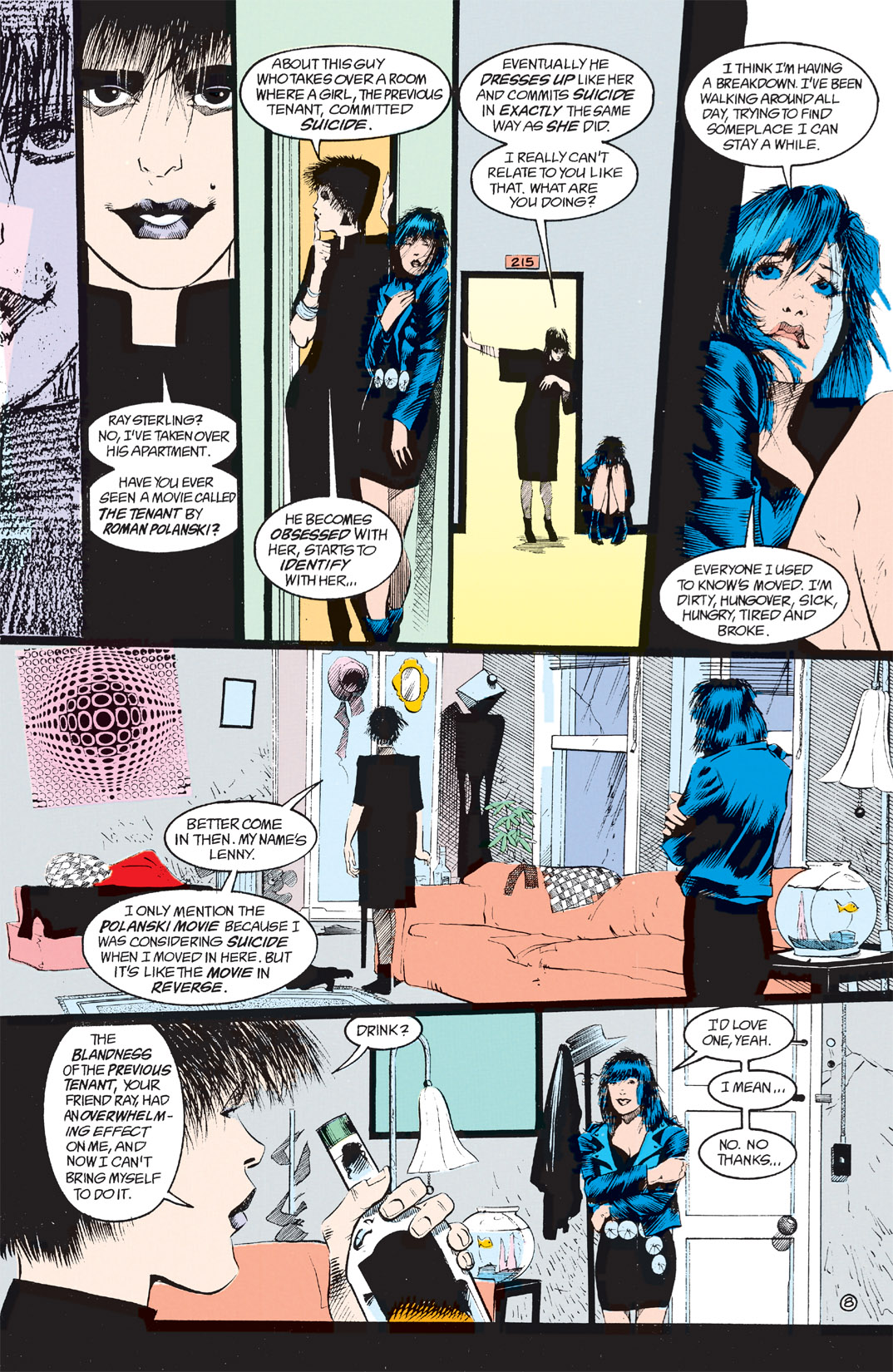 Read online Shade, the Changing Man comic -  Issue #8 - 7