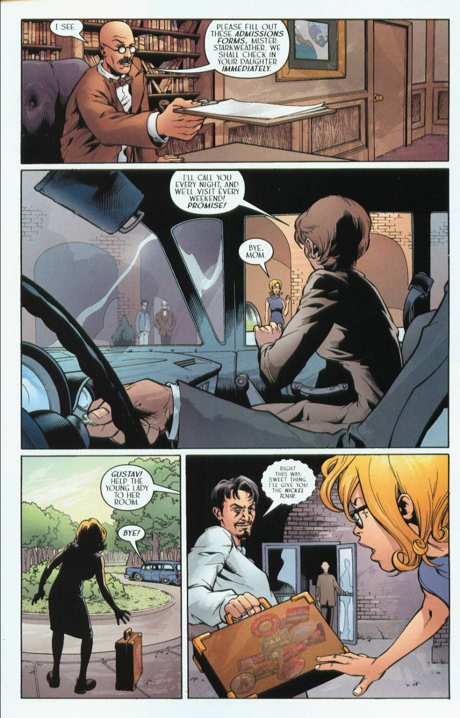 Read online Route 666 comic -  Issue #1 - 25