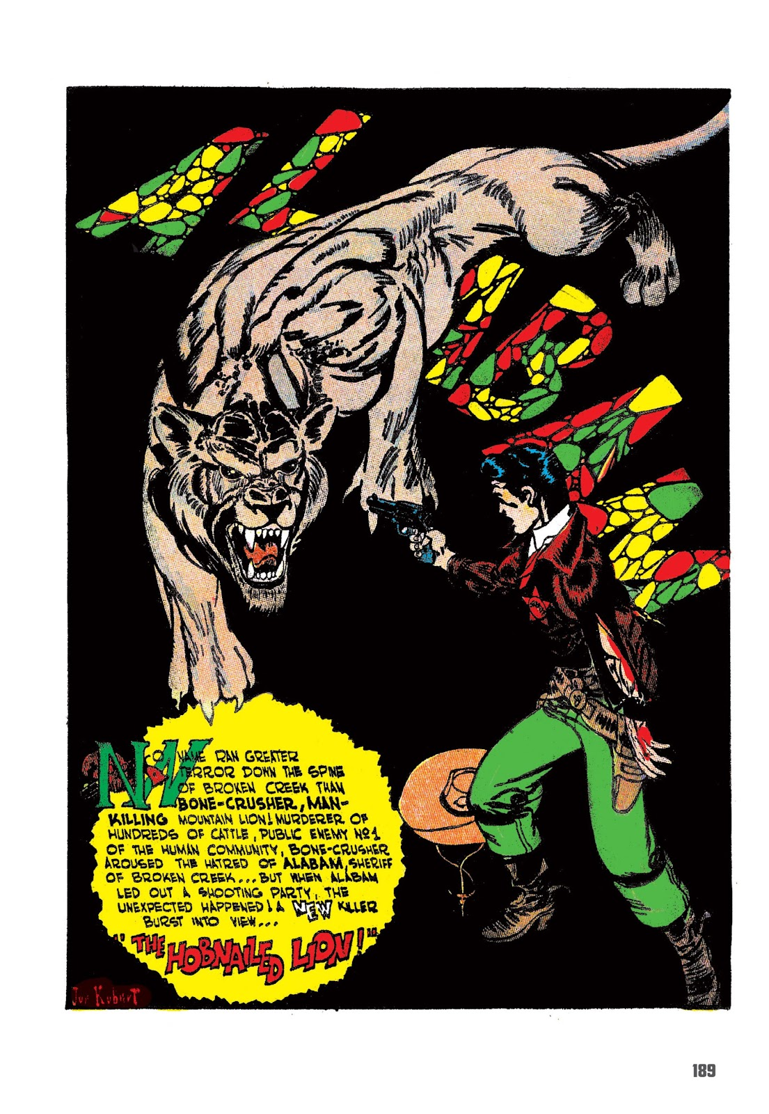Read online The Joe Kubert Archives comic -  Issue # TPB (Part 2) - 100