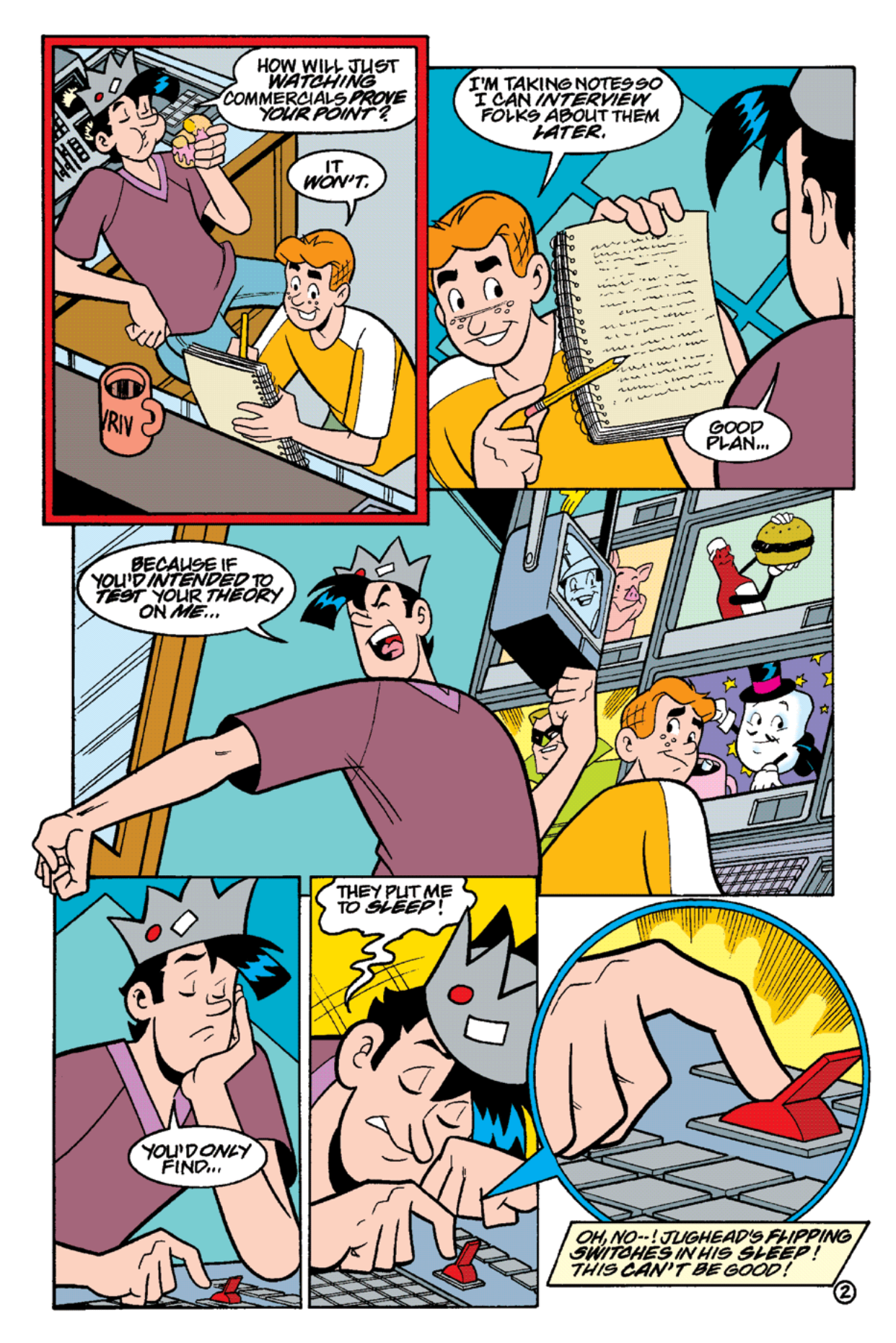 Read online Archie's Weird Mysteries comic -  Issue #15 - 4