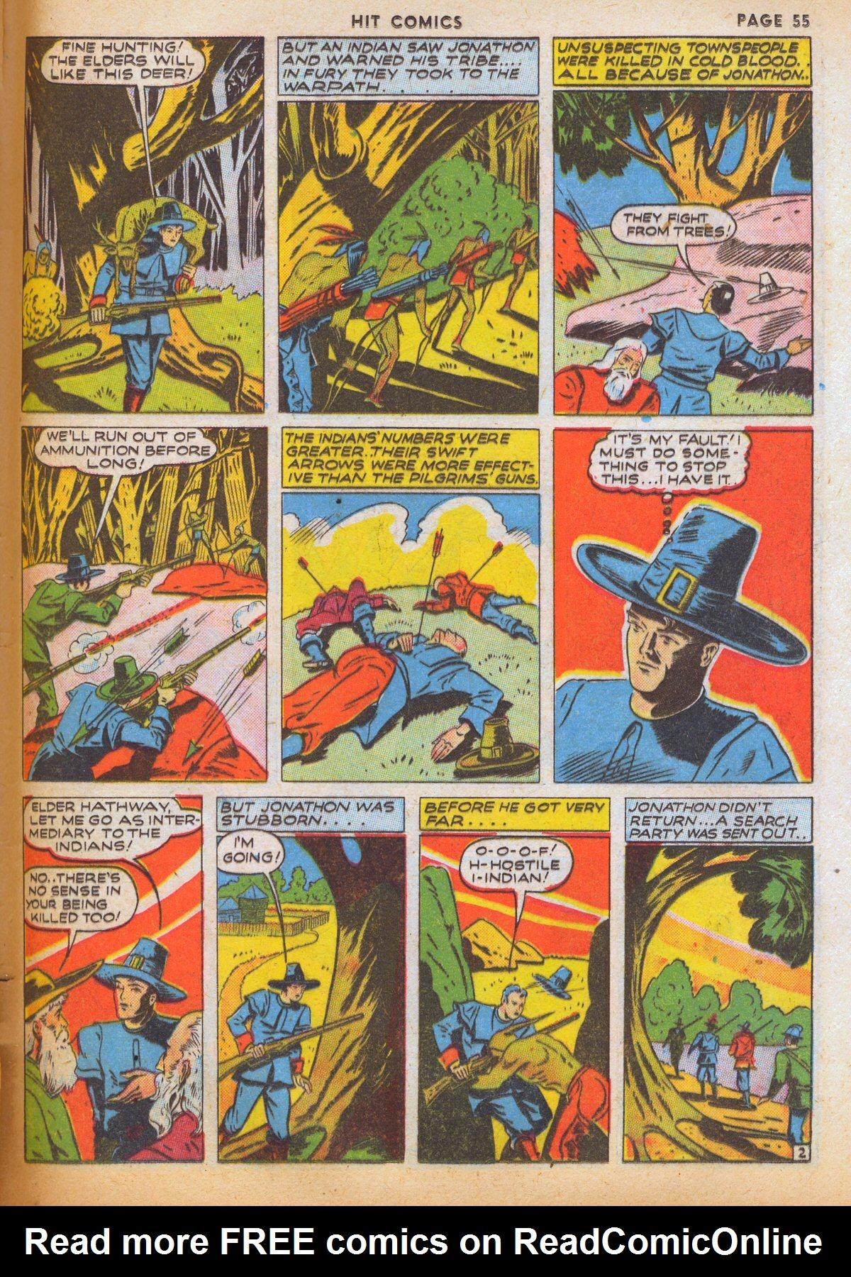 Read online Hit Comics comic -  Issue #12 - 57