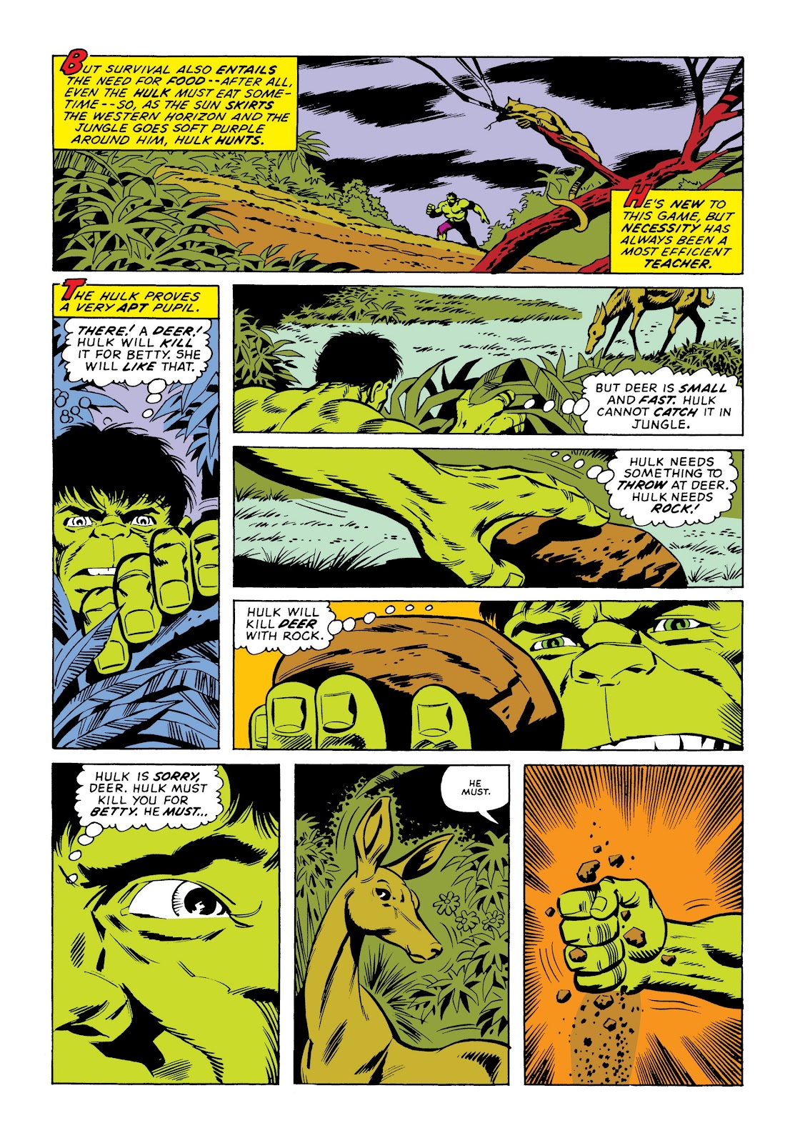 Read online Marvel Masterworks: The Incredible Hulk comic -  Issue # TPB 9 (Part 3) - 85