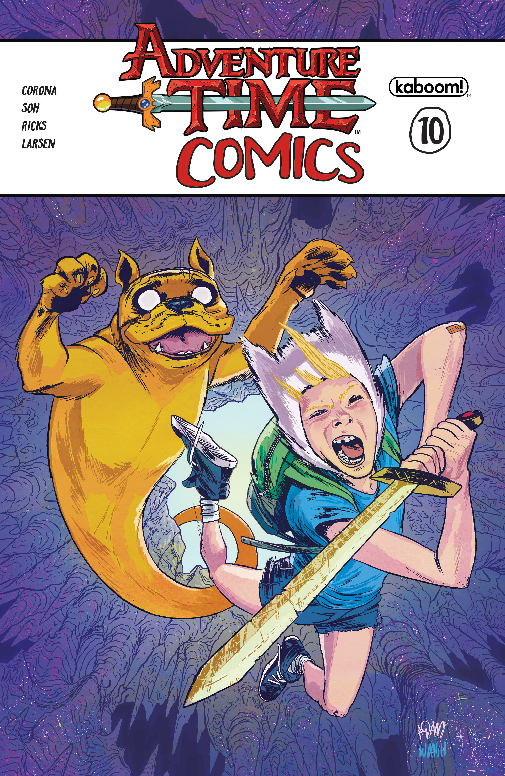 Read online Adventure Time Comics comic -  Issue #10 - 1