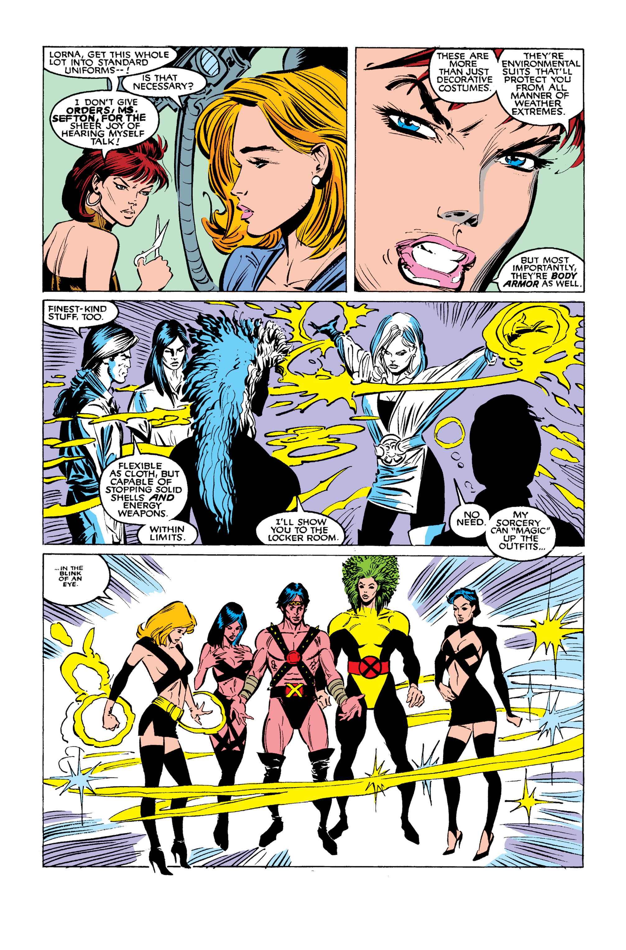 Read online Uncanny X-Men (1963) comic -  Issue #254 - 8